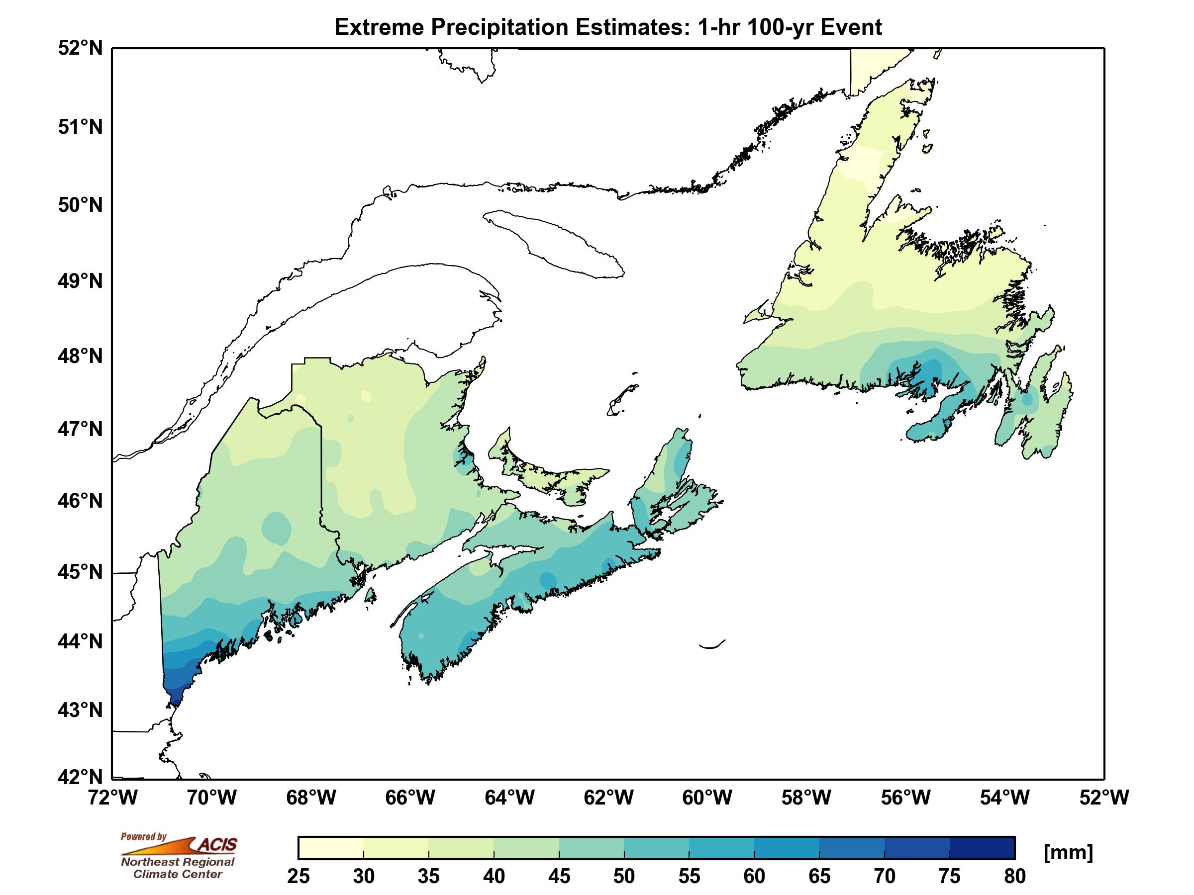 Atlantic Canada Extreme Precipitation
